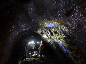 プランの魅力 観光洞窟ではない風穴・氷穴・蝙蝠穴へ入洞。 の画像