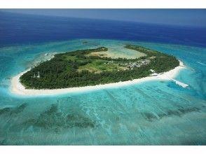 プランの魅力 明娜岛具有出色的透明度 の画像
