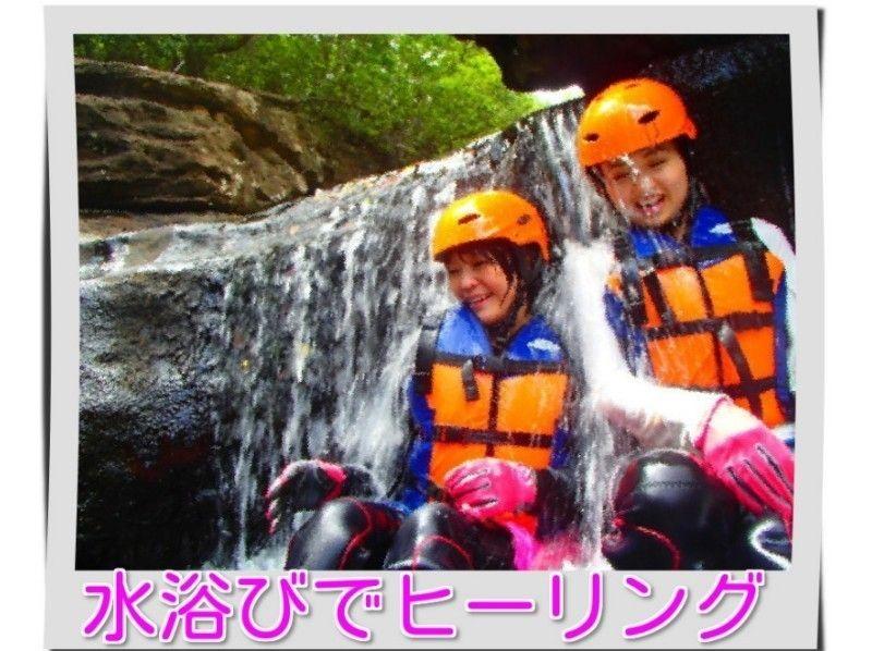 プランの魅力 水浴び・滝行は新鮮な感動 の画像