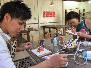 【沖縄・名護】壁掛けタイプ!面シーサー絵付けの魅力の説明画像