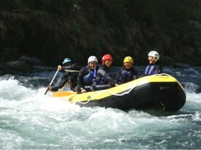 【Tokyo · Okutama】 Standard Rafting Tour <You can also have a holiday · BBQ! · Group rate available! > Description image of charm