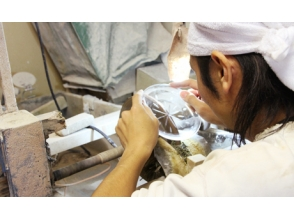 [Tokyo Koto Ward] of the charm of Edo Kiriko dish making experience description image
