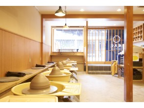 プランの魅力 綺麗な店内で陶芸体験をお楽しみください! の画像