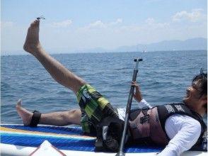 【滋賀・琵琶湖】レンタル込み!琵琶湖で水上散歩SUP体験(初心者コース)の魅力の説明画像