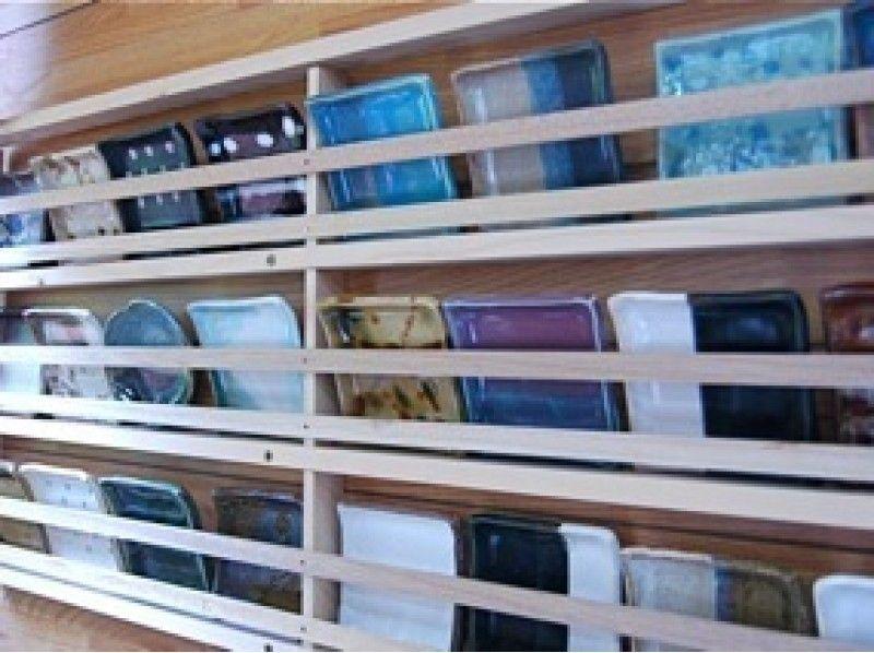 プランの魅力 約20種類の釉薬からお好きなカラーを選べます。 の画像
