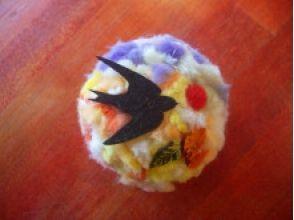 【埼玉・川越】羊毛フェルトを使ってもこもこボールを作ろう!の魅力の説明画像