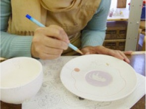 [Painting of Tokyo, pottery] enjoyed in parent and child! Charm of description image of Pota Lee painting experience