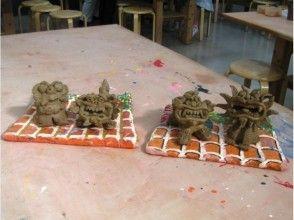 【沖縄県・本格シーサー作り】3時間じっくり楽しみたい人へ!本格陶器シーサー作り体験の魅力の説明画像
