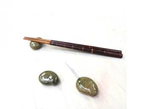 プランの魅力 制作诸如筷子架和茶匙之类的小物品,并在上面贴上您的签名。 の画像
