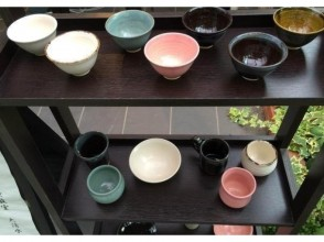 [Kyoto Prefecture, potter's wheel pottery experience] philosophy of the way along the central location ♪ modern cups making of Kyo in the studio attractive description image