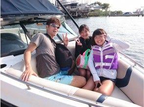 プランの魅力 The wind is comfortable at the tip of the boat の画像