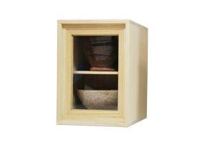 プランの魅力 这是我们原来的泡桐盒子。正面是丙烯酸或玻璃,因此即使将其放在盒子中也可以看到里面的东西 の画像