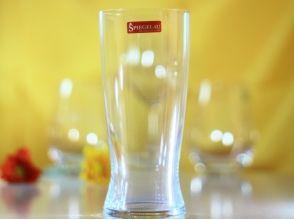 プランの魅力 クリスタルビールグラス の画像