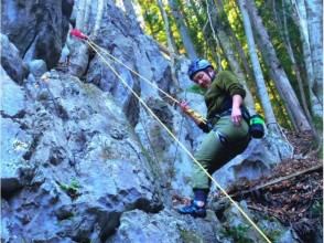 [Okutama rock climbing] welcome the first one! Climb a natural rock! Charm of description image of