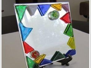 プランの魅力 Making an original mirror! It's a simple task, so you can enjoy it easily. の画像