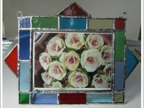 プランの魅力 Arrange the cut colored glass in your favorite color scheme and connect them. の画像