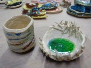 【東京・陶芸手びねり】本格的に全て自分で作る!手びねりコース(成形~釉薬掛け・3回)の魅力の説明画像
