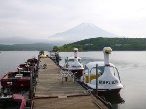 【山梨・山中湖】人気のウェイクボード&バナナボートセットプラン!の魅力の説明画像