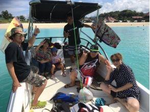 【グループ・団体応援】沖縄本島北部ウェイクボード専用艇ボートチャーター(定員6名様まで)の魅力の説明画像
