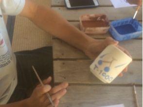 【山形県・陶芸体験】シンプルな柄からカラフルなものまで自由にデザイン!絵付け体験の魅力の説明画像
