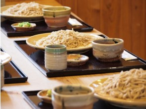 【三重県・蕎麦作り体験】蕎麦粉で蕎麦打ちを体験しようの魅力の説明画像