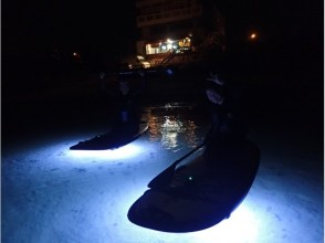 Is [Okinawa Onna] Okinawa wear is slow time? I would play at night ★ Night SUP experience course ★ charm description image
