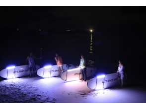 [Okinawa Onna] night expedition! Night SUP cruise, Okinawa is the main island's first landing ★ shooting + SD card gift ★ charm description image
