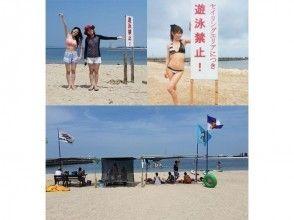 プランの魅力 海上にはSUP専用エリア・ビーチにはスクール生専用日焼け防止タープ設置 の画像