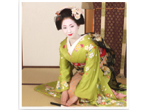 [Kyoto Higashiyama-ku] attractive description image of a full-fledged geisha experience by a skilled professional (up to shooting from the dressing!)