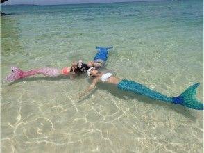 【沖縄・恩納村】2歳から参加OK!人魚になれる夢が叶っちゃう!海外で人気のマーメイドスイムの魅力の説明画像