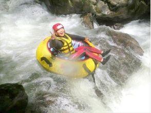 [Yamanashi Katsura River, 40 minutes from Lake Kawaguchi] torrent tubing tour (PM course) single occupancy 7500 yen / charm of description image