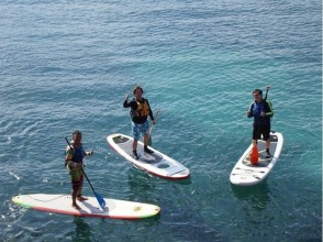 プランの魅力 我们为体验提供了必要的一组工具,例如SUP板和桨 の画像