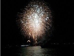 プランの魅力 In summer, Lake Biwa has fireworks everywhere. Wake in the daytime, fireworks watching course at night! Nice! の画像