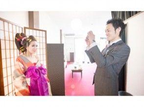 【奈良・花魁体験】髷を使わない現代風花魁「撫子プラン」特典2つ付き!の魅力の説明画像