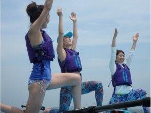 【千葉・富津海岸】穏やかな海でリフレッシュ♪SUPヨガ体験!の魅力の説明画像