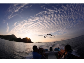 Recommended for romantic couples and girls meeting! Blue Cave Sunset cruising of charm description image