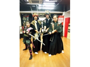 [Osaka, Osaka City] experience the fighting and transformed into a samurai-ninja! Like movies and drama actor mood of the charm of the description image