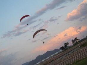 【群馬・沼田】パラグライダー体験フライトの魅力の説明画像
