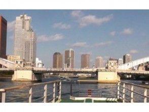 【東京・浅草】屋形船に乗って東京を周遊! [隅田川ランチクルーズ錦(昼限定プラン)]の魅力の説明画像