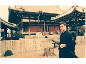 [Osaka Sennan] Couples deals samurai experience plan! Samurai spirit will learn! Charm of description image of
