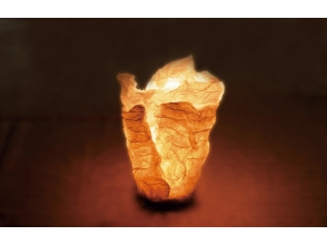 "[Tokyo Nishitama] of Let's Make a papermaking ""LED mini Japanese paper candle"" in the towel charm of description image"