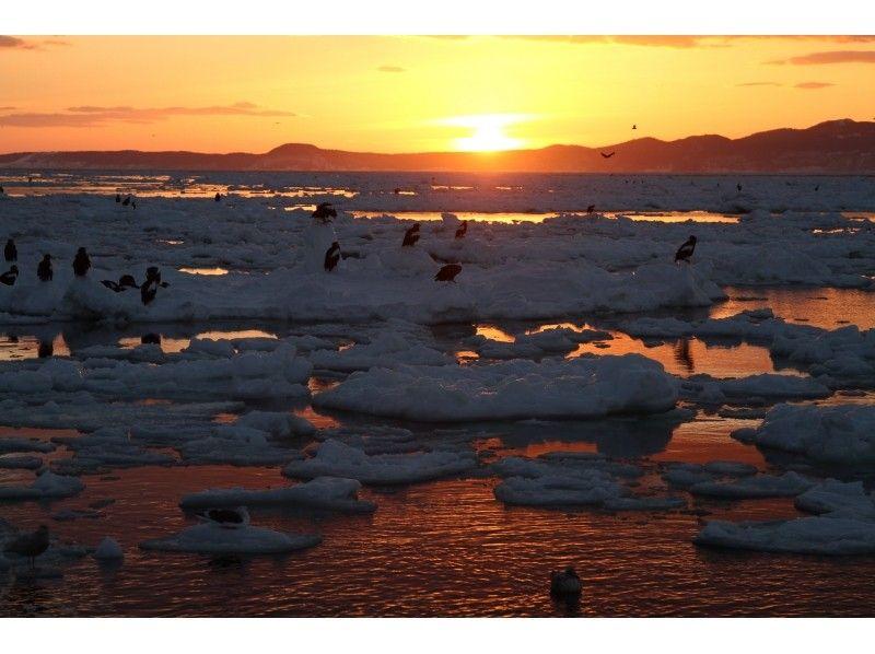 プランの魅力 国後島から昇る朝日 の画像