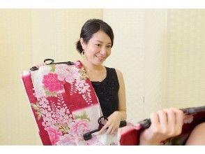 [อาซากุสะโตเกียว] Zane Bukomi แออัดแผนกิโมโนยูกาตะเช่าราคาถูกของเสน่ห์ของภาพคำอธิบาย