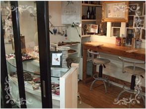 プランの魅力 The workshop also has a fashionable shop の画像