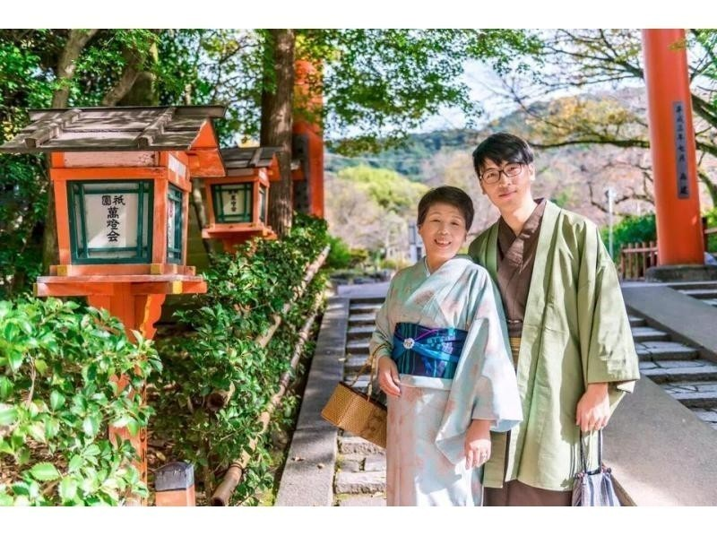 Charm of the plan How about sightseeing in Kyoto with a family? Image will be very good memory