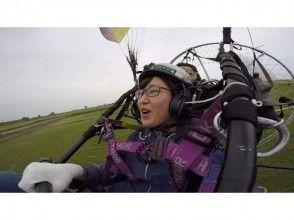 【栃木・佐野】大人のためのモーターパラグライダー(タンデムフライトコース)の魅力の説明画像