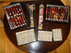 プランの魅力 Traditional picture candles as souvenirs の画像