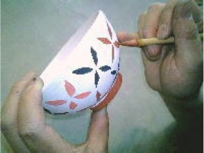 [Tokyo Chofu] pottery experience in lush Jindaiji kiln. To put a picture in full-scale pottery charm of description image of [this baked course]
