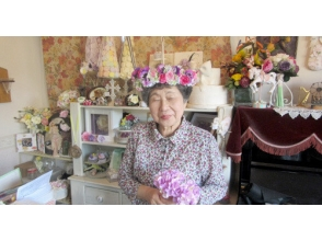 【東京・富士見台】記念日・パーティに花冠で華やかさを。花冠のフラワーアレンジメントの魅力の説明画像