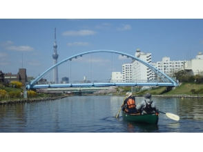 【Tokyo / 23 wards】 Explanation image of Sky Tree Canadian canoe's attraction